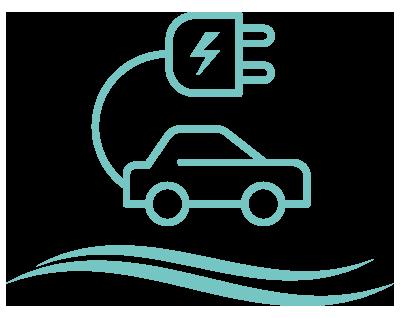 Energy Efficient Transportation Title Icon